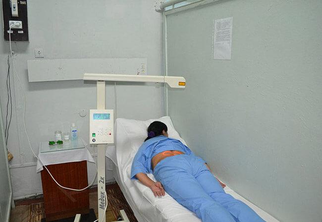 Санаторий Одесский Фото - лечение спины.