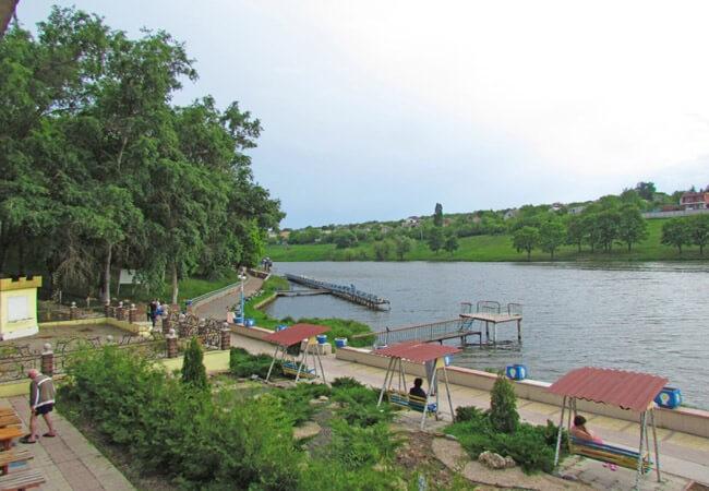 Санаторий Роща Песочин - Озеро.