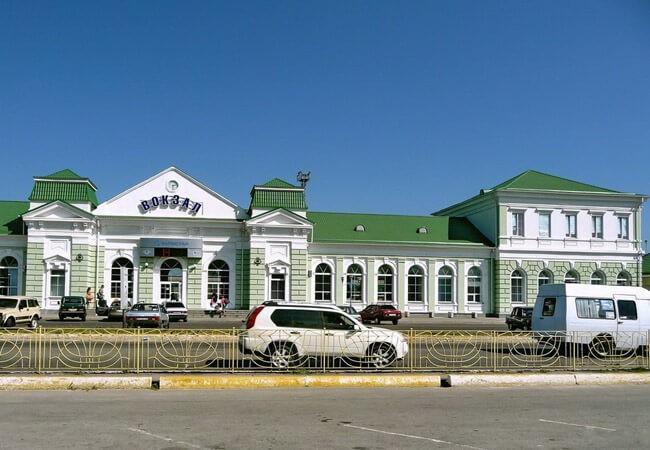 Вокзал - Бердянск