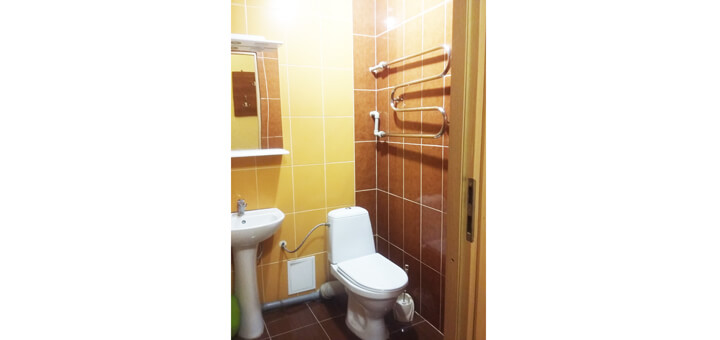 Санаторий Шкло Стандарт 2месн - туалет.