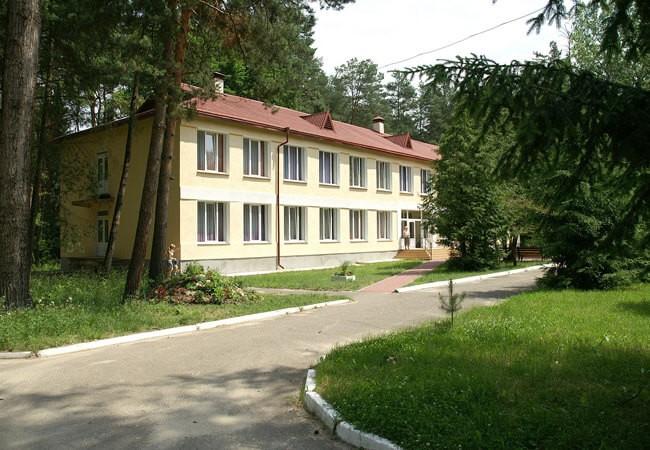Санаторій Шкло Фото - Здание.