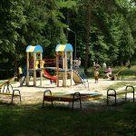 Санаторій Шкло Фото - Детская площадка.