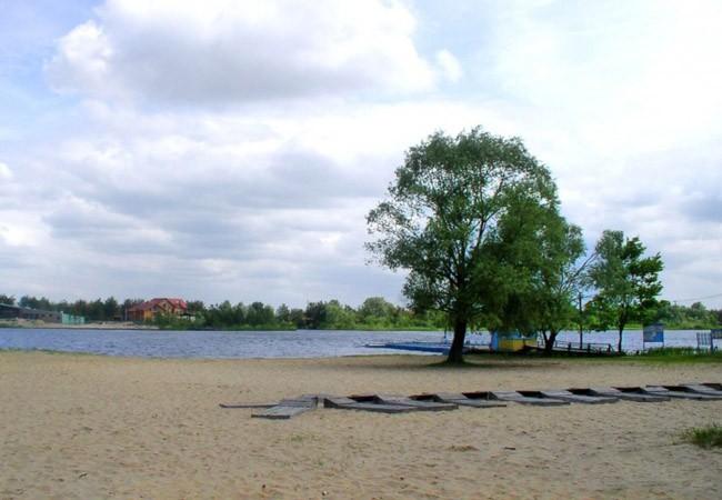 Санаторий Жовтень Фото - Пляж.