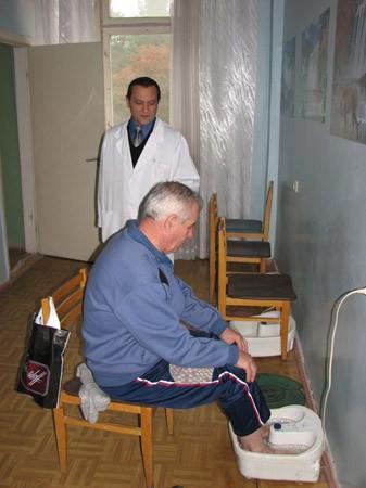Санаторий Жовтень Фото - Терапия.