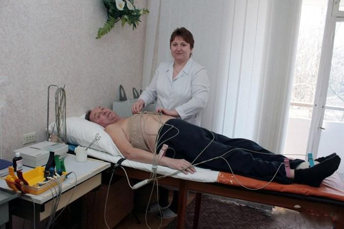 Санаторий Жовтень Фото - Диагностика.