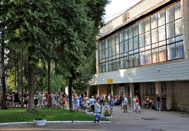 Санаторий Берминводы Фото - Лечебница.