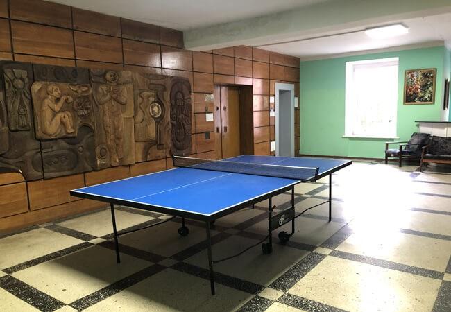 Санаторий Пуща Водица Фото - Теннис