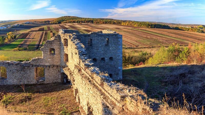 Курорт Сатанов - Крепость