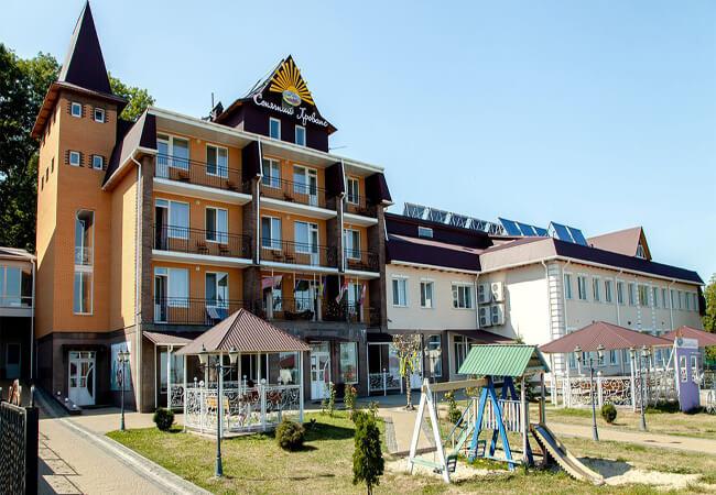 Санаторий Vita Park Солнечный Прованс - Здание