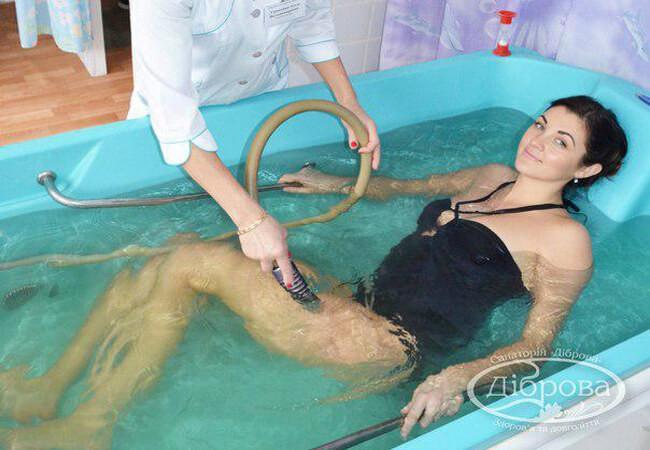 Санаторий Дубрава Фото - Лечебный душ