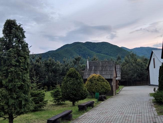 Санаторий Трембита - Горы