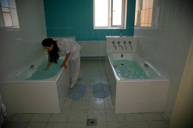 Санаторий Трембита - Процедурная с Ваннами