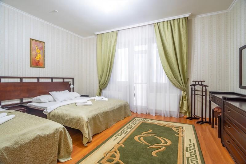 Отель Фантазия Номер ПолуLX 1к. 3мест. - Спальня