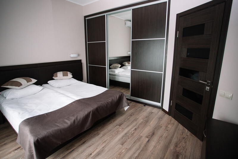 Отель Катерина Номер 3комн. LX - Спальня