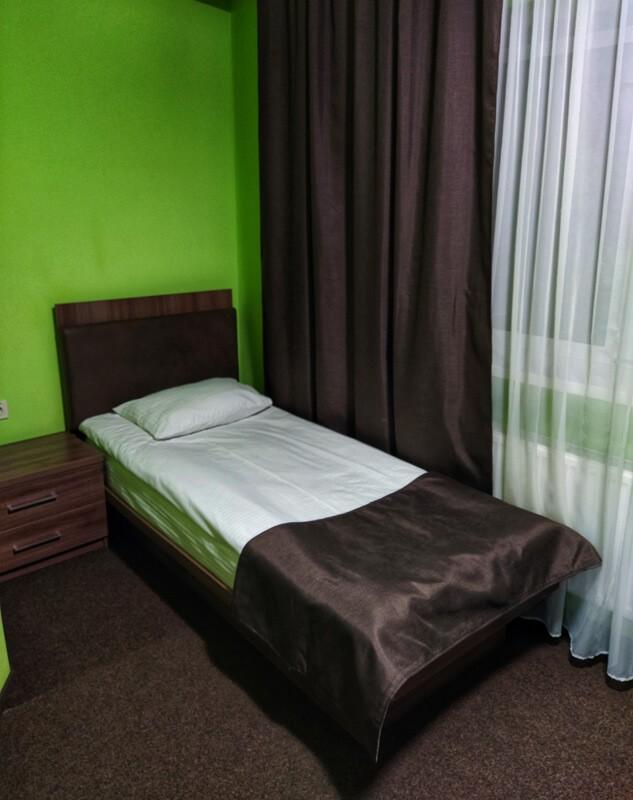 Отель Катерина Номер 1мест. СТ - Спальня