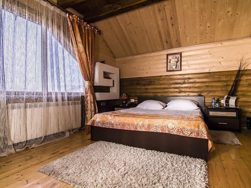 Отель Катерина Номер 2мест. СТ - Спальня