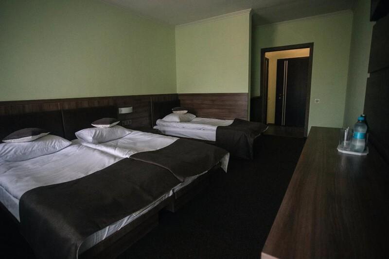 Отель Катерина Номер 3мест. СТ - Кровати