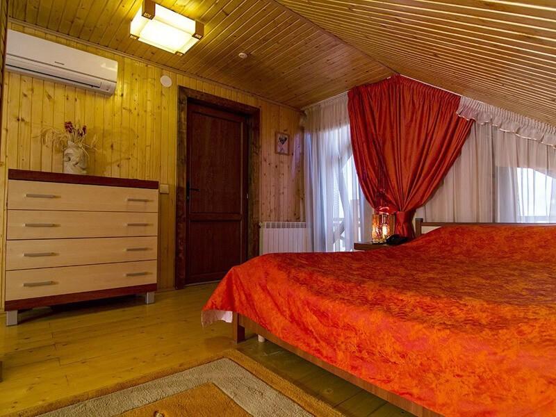 Отель Катерина Номер 3мест. СТ - Кровать