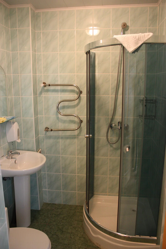Отель Мараморош Номер СТ DBL тер - Туалет