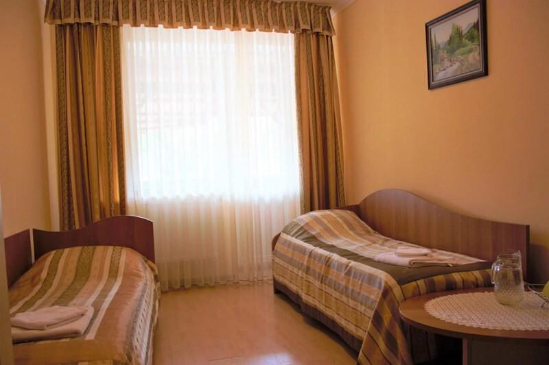 Отель Мараморош Номер Komf - Спальня