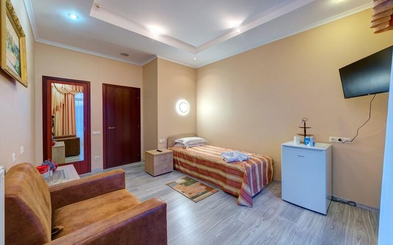 Мраморный Дворец Номер СТ без балкона - Спальня