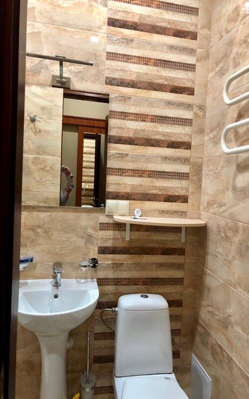 Мраморный Дворец Номер СТ без балкона - Туалет