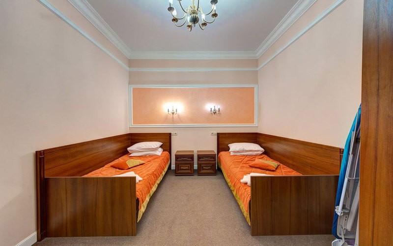 Мраморный Дворец Номер Люкс Премиум - Кровати