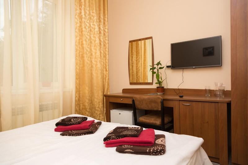 Отель Эко Термал Номер Delux - Спальня