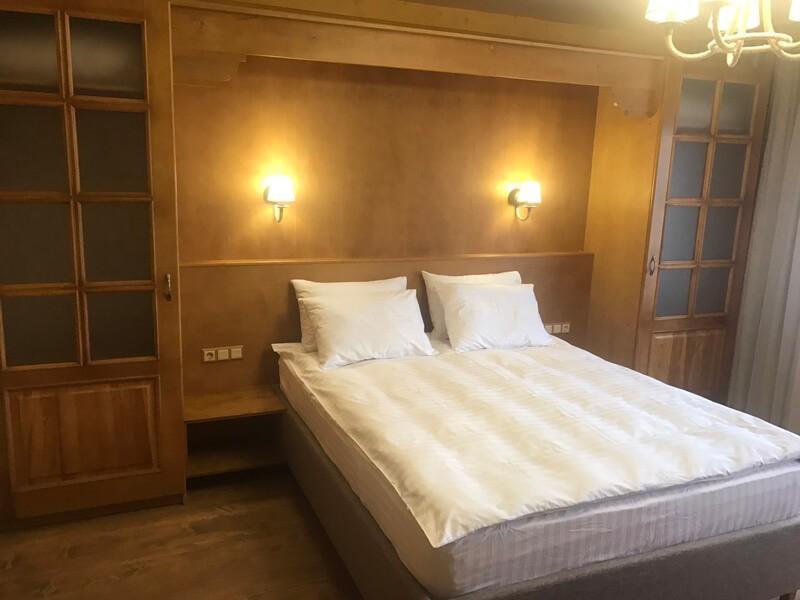 Отель Эко Термал Номер Eco-Дома - Спальня