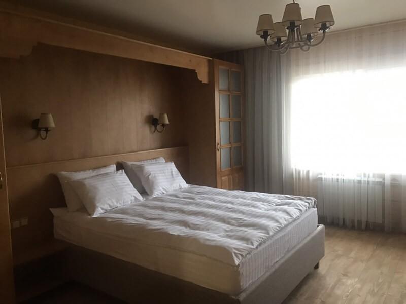 Отель Эко Термал Номер Eco-Дома - Кровать