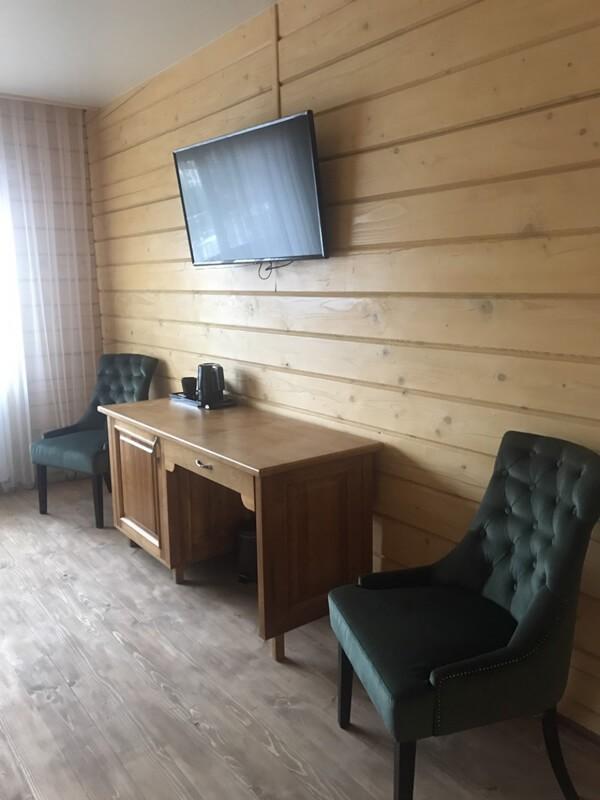 Отель Эко Термал Номер Eco-Дома - Телевизор