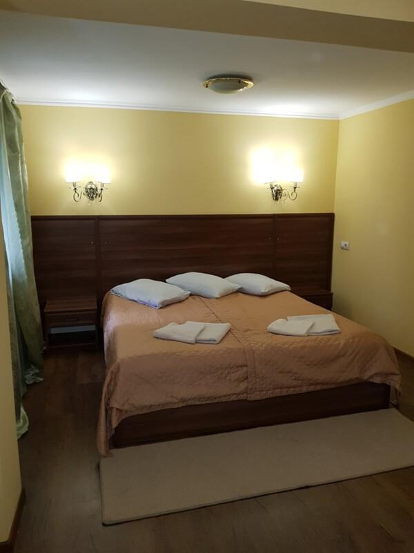 Отель Эко Термал Номер Lux - Спальня