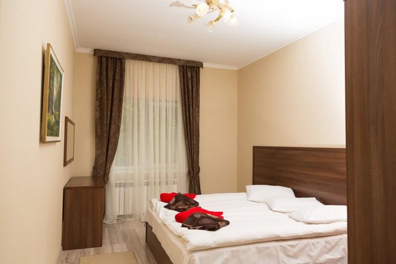 Отель Эко Термал Номер Lux - Кровать