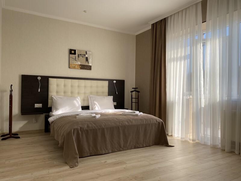 Отель Фантазия Номер Люкс 2комн. - Спальня