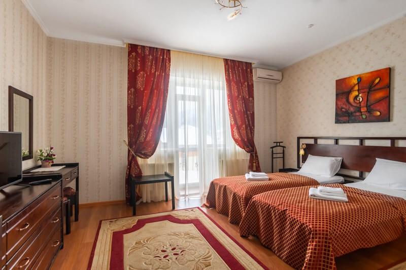 Отель Фантазия Номер ПолуLX 1комн. - Спальня