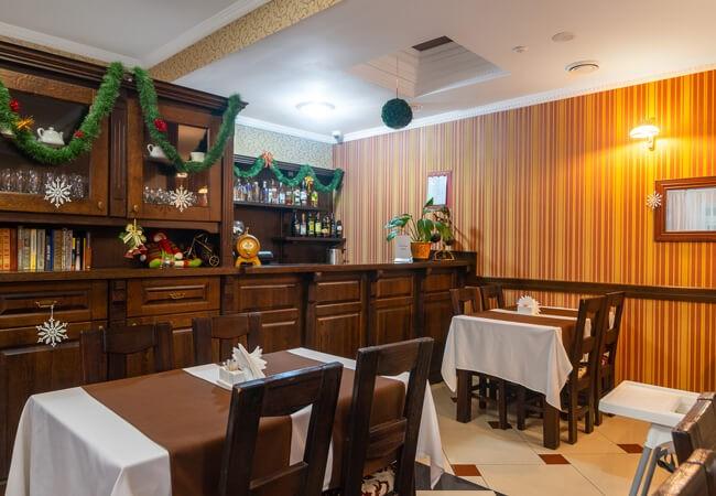Отель Фантазия в Поляне - Ресторан