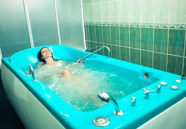 Отель Фантазия в Поляне - Ванная