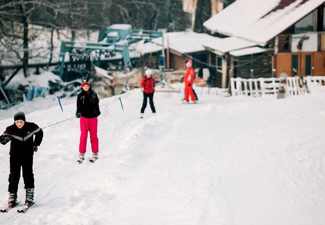 Отель Катерина в Поляне - Лыжи