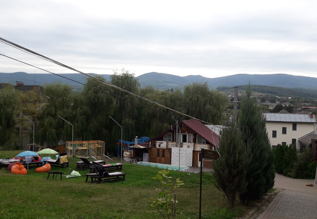Отель Катерина в Поляне - Пейзаж