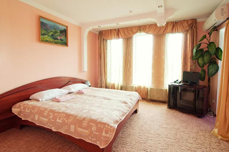 Отель Континент Номер ПолуLX классич. - Спальня