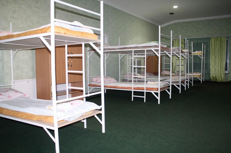 Отель Континент Номер Хостел - Спальня