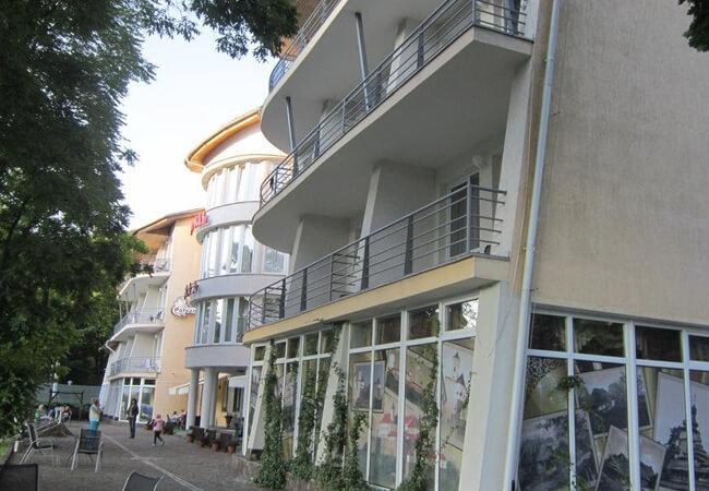 Отель Квеле Поляна - Балконы