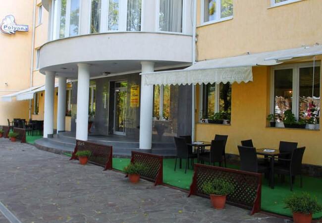 Отель Квеле Поляна - Вход