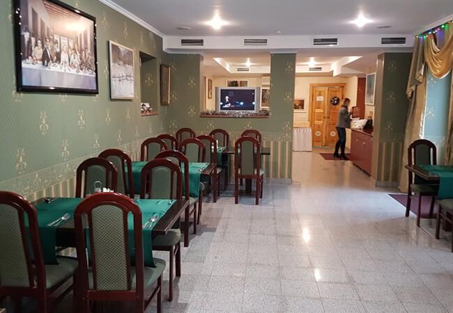 Отель Квеле Поляна - Ресторан