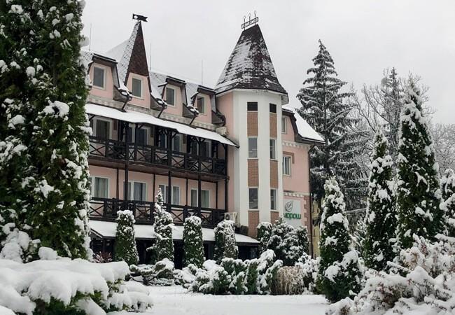 Отель Мараморош Шаян - Зимний фасад
