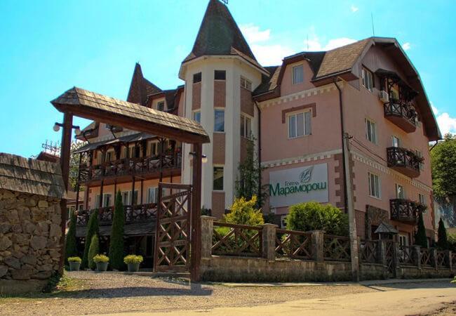 Отель Мараморош Шаян - Вход