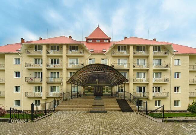 Отель Рейкарц Поляна - Вход