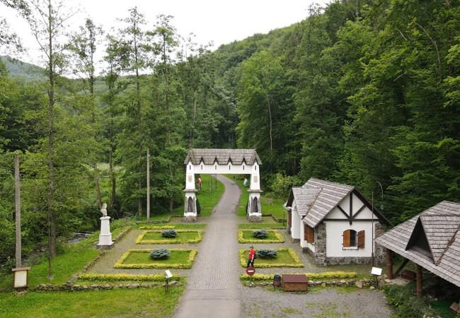 Отель Воеводино Закарпатье - Парк