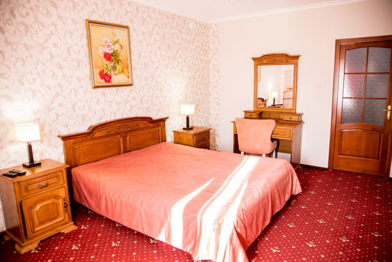 Отель Жаворонок Номер LX 2мест. - Кровать