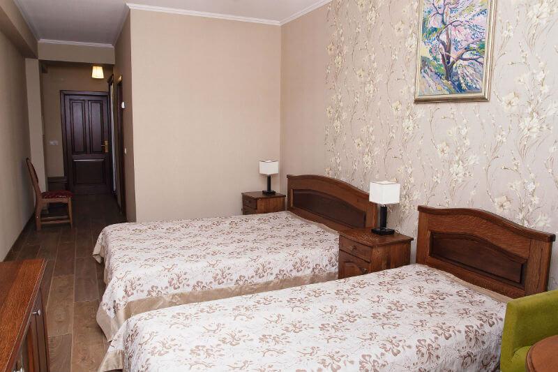 Отель Жаворонок Номер П.LX 3мест - Спальня